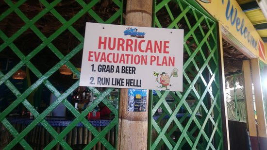 Sharkies Hurricane Evac Plan