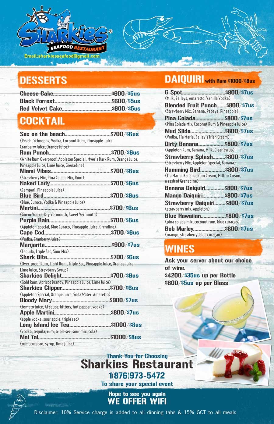 sharkies menu 3